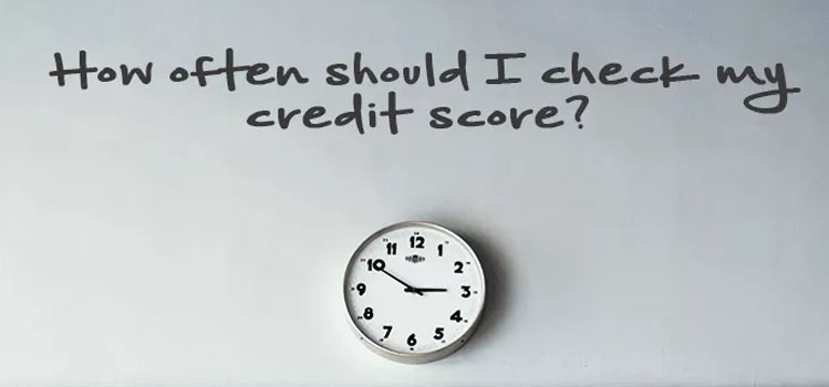 How often should I check my credit score?