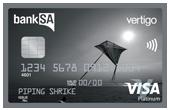 BankSA Vertigo Platinum Card