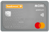 Bankwest More Platinum Mastercard