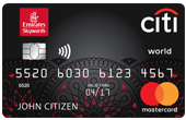 Emirates Citi World Mastercard