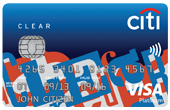 Citi Clear Platinum Credit Card