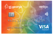 St.George Rainbow Vertigo Platinum Card