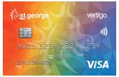 St.George Rainbow Vertigo Card